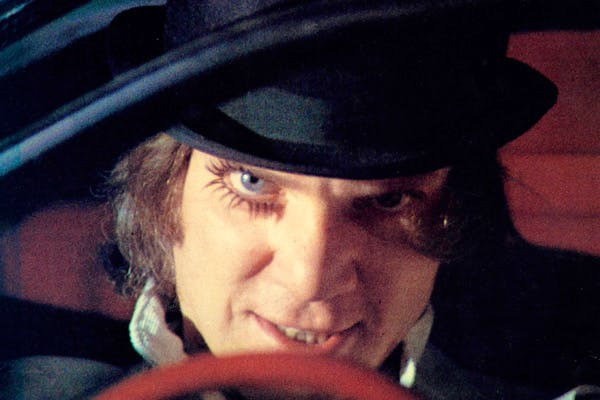 Malcolm McDowell as 'Alex' in Stanley Kubrick's 'A Clockwork Orange' (1971)