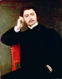 Portrait of Proust by Jacques-Emile Blanche