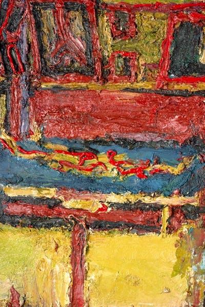 Studio with Figure on Bed II 1966
