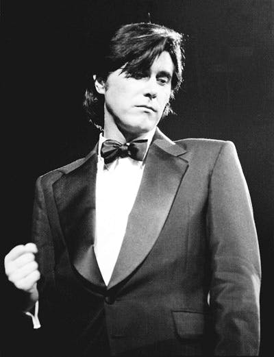Bryan Ferry Performing At The Royal Albert Hall