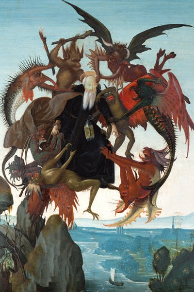 'The Terrors of St Anthony' by Michelangelo.