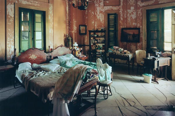 Shades of Greene: a Havana interior by Andrew Moore, one of many haunting photographs of decayed grandeur from Cuba (with essays by Joel Smith and Orlando Luis Pardo Lazo), published by Damiani, £50