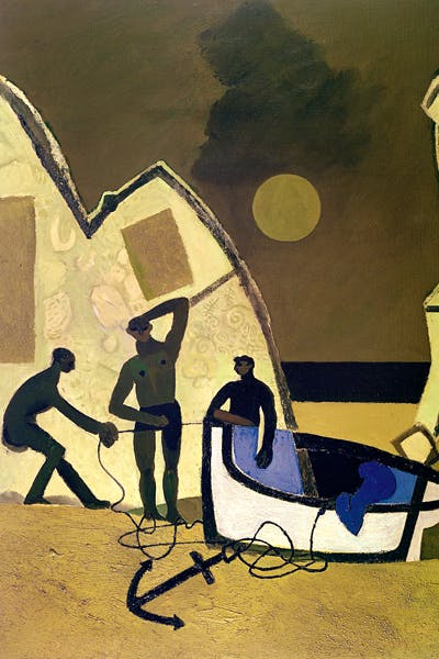 Keith Vaughan - 'Fishermen in Finisterre', 1951