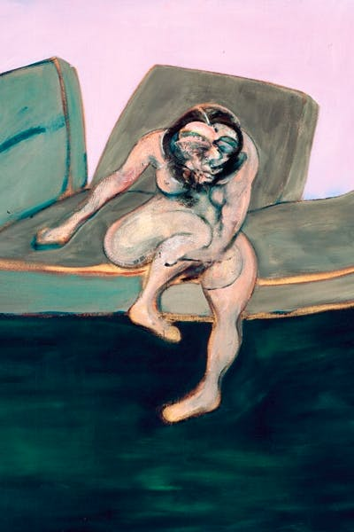 'Seated Woman' — a portrait of Muriel Belcher —by Francis Bacon, 1961