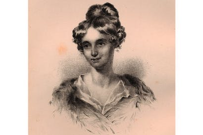 Portrait of Sarah Losh by T.H. Carrick, 1873
