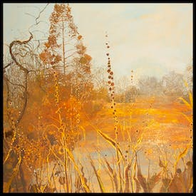 'The Isabella Plantation' by Ruth Stage is the winner of this year's Lynn Painter-Stainers Prize