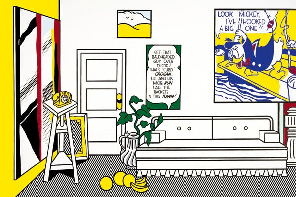 "'Artist's Studio ""Look Mickey""', 1973, by Roy Lichtenstein"