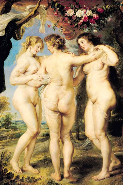 Rubens's 'Three Graces' had a disturbingly powerful effect on the art historian Kenneth Clark