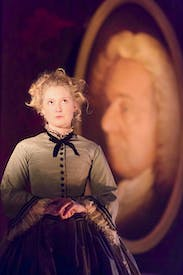 Forsaking the greasepaint: Amy Morgan as Rose Trelawny
