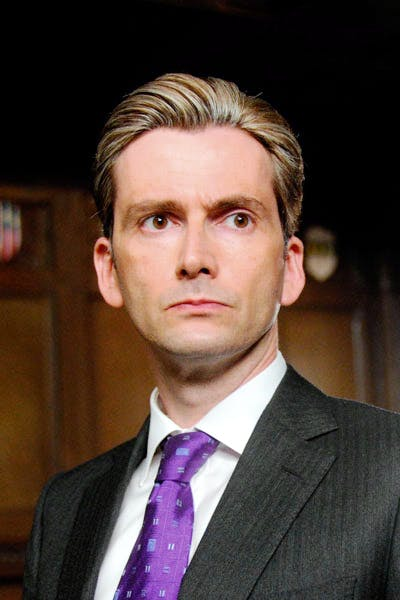 Aiden Hoynes (David Tennant) at a career standstill in the House of Commons
