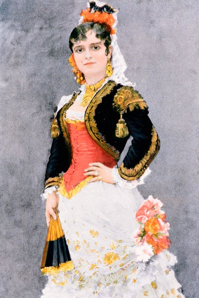 Celestine Galli-Marie as Carmen, by Henri Lucien Doucet