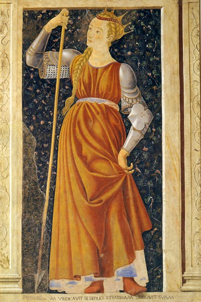 'Queen Tomyris', 1448–9, by Andreadel Castagno