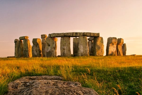 Stonehenge, given to the nation in 1918, is one of English Heritage's most popular sites