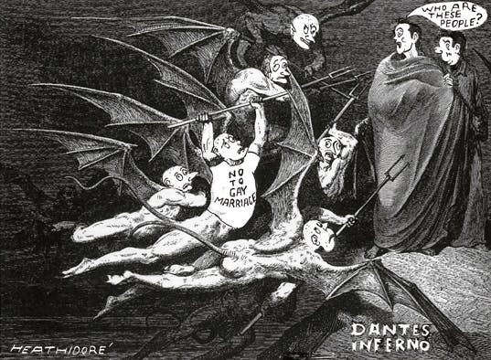 Cameron in hell