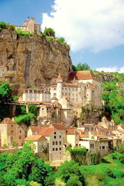 Rocamadour, in the Dordogne valley