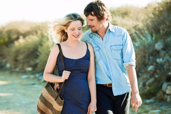 Julie Delpy and Ethan Hawke in 'Before Midnight'