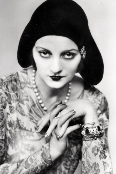 Talluluh Bankhead, the only convincing flapper in the book, photographed c.1930