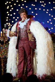 Michael Douglas as Liberace: surprisingly charismatic and vaguely sexy