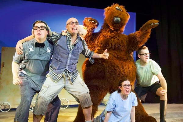 We're Going on a Bear Hunt - Michael Rosen, Sally Cookson, London theatre 2013
