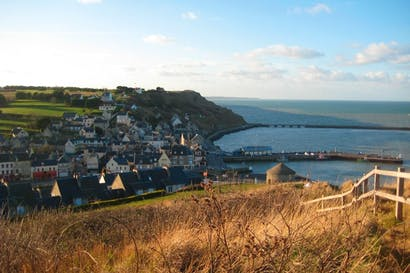 Unassuming: Port-en-Bessin today