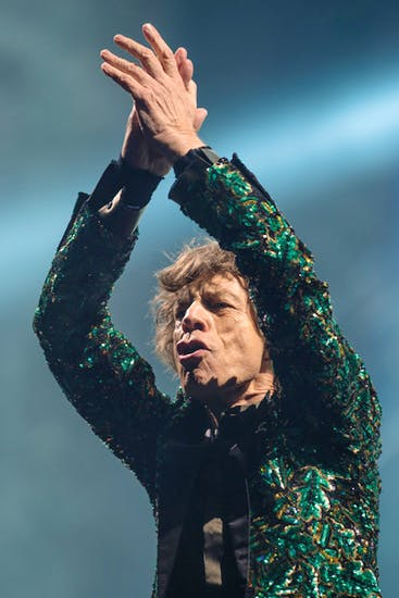Satisfaction guaranteed: Mick Jagger