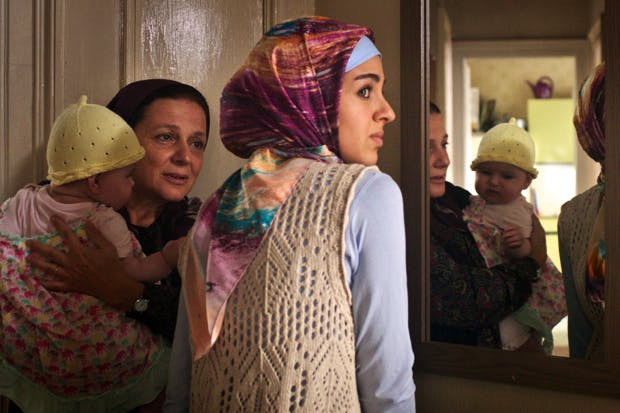 Beautifully acted: Nihal Koldas and Begüm Akkaya in 'Kuma'