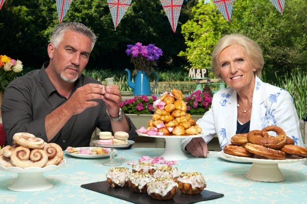 Cake is for everyone: Paul Hollywood and Mary Berry