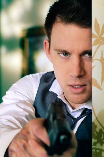 Trigger happy: Channing Tatum as John Cale