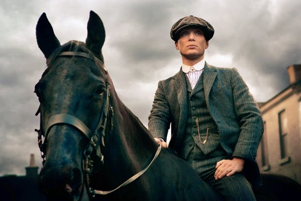 Mesmerising: Cillian Murphy as Thomas Shelby in Peaky Blinders