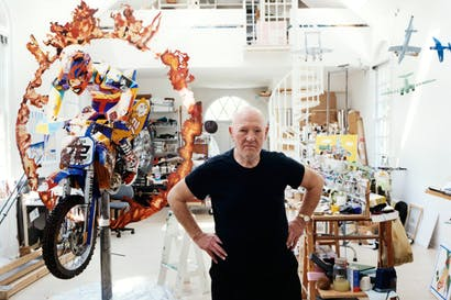 Malcolm Morley in his studio: 'Two words characterise my art — diversity and fidelity'