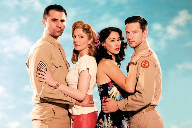 'From Here to Eternity': Darius Campbell, Rebecca Thornhill, Siubhan Harrison and Robert Lonsdale
