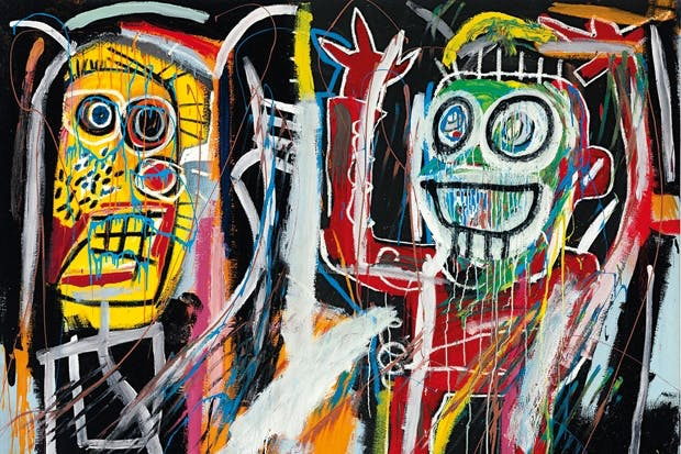 Market dominance: 'Dustheads', 1982, by Jean-Michel Basquiat