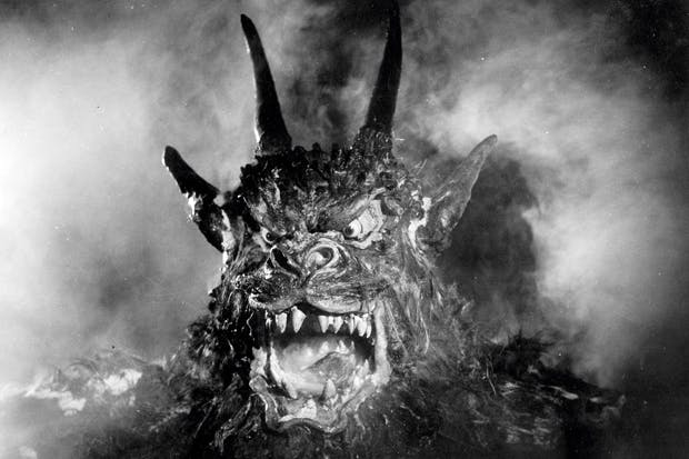 Scary monsters: the demon from Jacques Tourneur's 1957 film