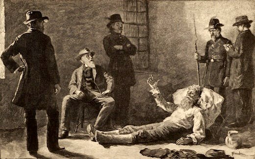 The capture of John Brown, 1859