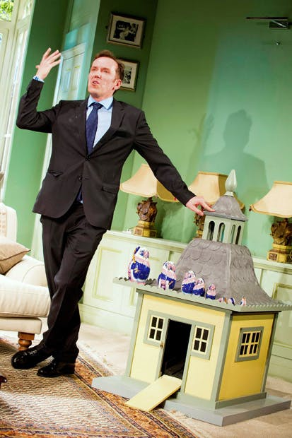 Ben Miller as Robert Houston MP in 'The Duck House'