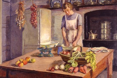 'Grace Higgens in the Kitchen' by Vanessa Bell