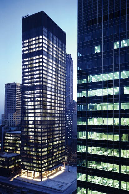 The Seagram Building, Park Avenue, New York
