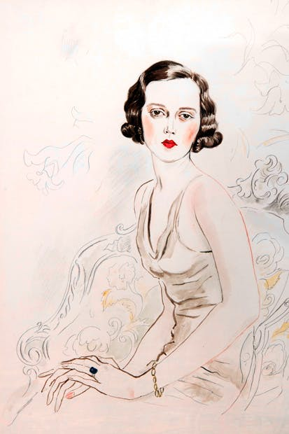 Portrait of Sheila by Cecil Beaton