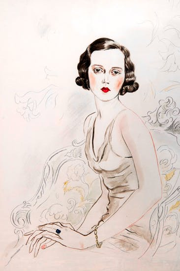 Portrait of Sheila by Cecil Beaton. Image via The Guardian.