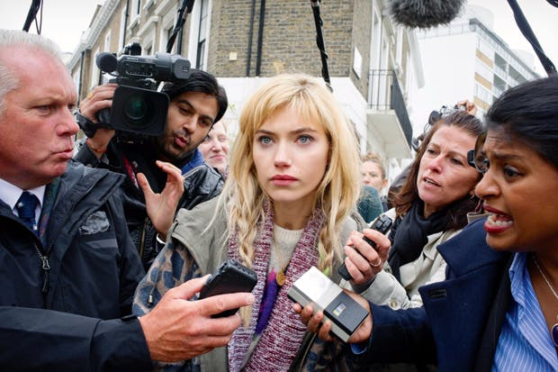 Will she jump? Imogen Poots as Jess, the daughter of a politician