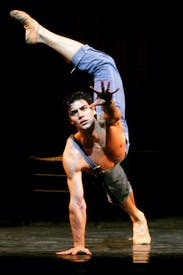 Roberto Bolle in 'Le Jeune Hommeet la Mort' at the Coliseum