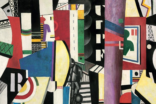 Fernand Léger 's 'The City', 1919