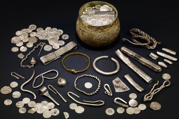 The Vale of York hoard, 900s.