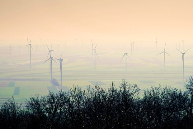 Wind turbines are neither clean nor green and they provide