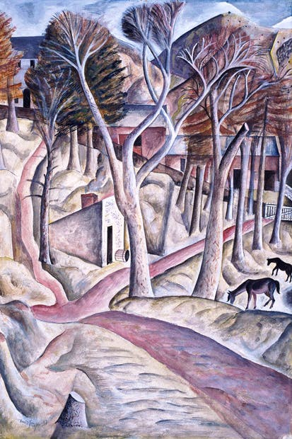 'Capel-y-ffin', 1926–27, by David Jones