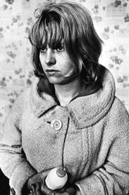 Carol White in Jeremy Sandford's BBC play Cathy Come Home. Watched by 12 million, the drama's hard-hitting depiction of homelessness and unemployment made a huge impact on its shocked audience in 1966