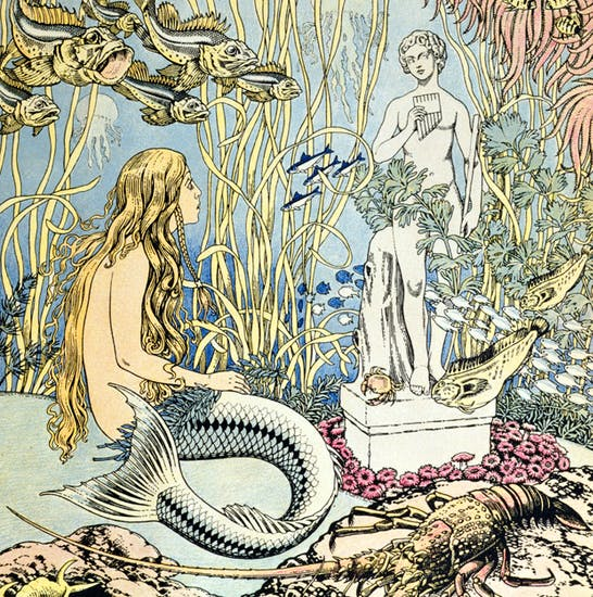 The Little Mermaid, illustrated by Ivan Bilibin