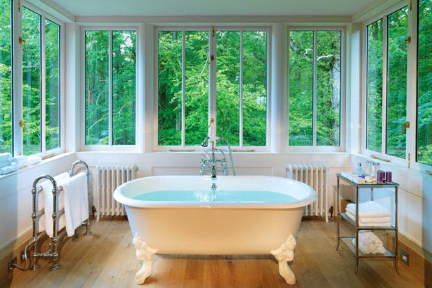 A place to feel comfortable in a bathrobe: Lime Wood