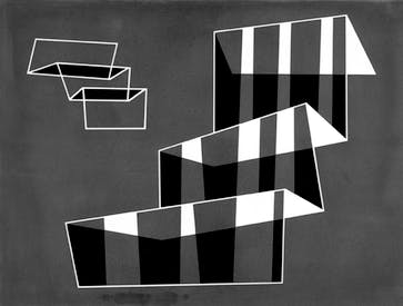 'Steps', 1931, by Josef Albers
