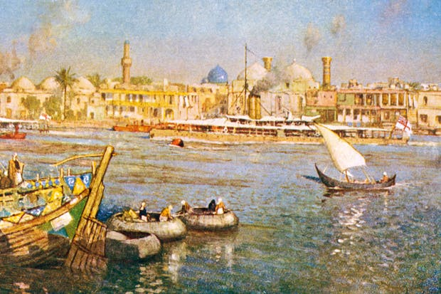 View of Baghdad in 1918